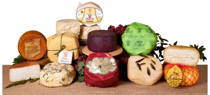 Affined cheeses